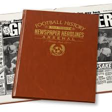 nal soccer newspaper book