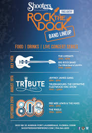 rock the dock 2018 80 s bands