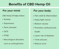 Hasil gambar untuk hemp oil benefits