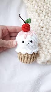Crochet cherry tomatoes kawaii <b>1pcs summer</b> toy Teether teeth eco ...