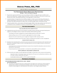 8 Human Resources Generalist Resume Letter Signature