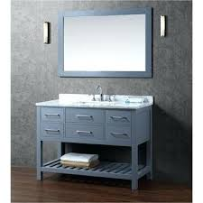 bathroom vanities 48 inch. Cool Discount Bathroom Vanities 48 Inches Solid Wood Single Vanity  In Charcoal Grey Double Sink Bathroom Vanities Inch K