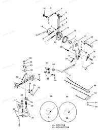 Volvo penta throttle lever diagram
