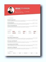 resumes doc smart red resume template sumo resumes cv doc templates free