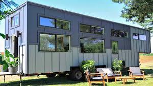gooseneck tiny house. Stunning Bright Modern Gooseneck Tiny House With Large Spacious Kitchen   Small Home Design Ideas