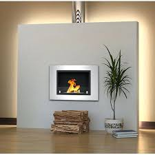 ethanol wall mounted fireplace built in recessed wall mounted bio ethanol fireplace reviews wraith ventless bio