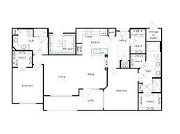 3 bedroom apartments plan.
