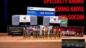 458 Socom Ammo Test How Hard Does It Hit
