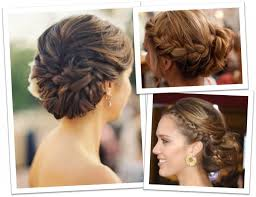 French Braid Updo Hairstyles Braided Updo Hairstyles Pinterest Quick Amp Easy Curly French