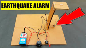 Light Switch Science Project How To Make Earthquake Alarm Working Model For Science Project