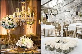 crystal chandelier table centerpieces for weddings top with