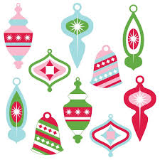 retro christmas ornament clip art. Plain Ornament This Vintage Christmas Ornament Clip Art Set Is Perfect For All Of Your  Holiday Projects And Retro Ornament Clip Art H