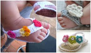 Free Crochet Patterns For Baby Sandals Best Ideas