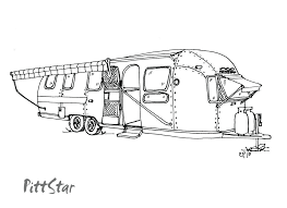 Camper Trailer Coloring Pages Camper Trailer Coloring Pages Camping