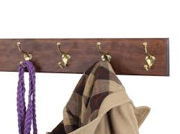Cherry Coat Rack Interesting Buy Solid Cherry Wall Mounted Coat Rack With Oil Rubbed Aged Bronze