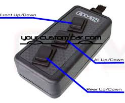 switch box avs 3 button switch box avs arc 7 air suspension control air management