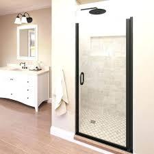 black shower door black framed shower doors adorable linen color bathroom having glass door with frame