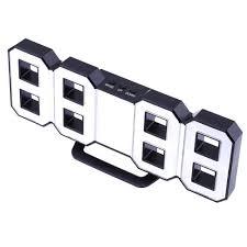 <b>perfeo</b> 3D LED Digital Wall Alarm Clock, Multi-Function Digital Alarm ...
