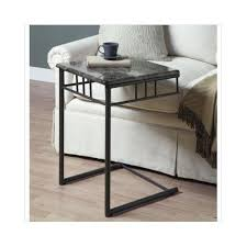 snack tray table tv slide under couch
