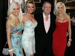 Hugh hefner's girlfriends having sex