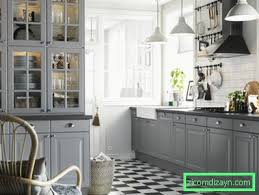 Този стил на интериор се характеризира с луксозни мебели, заглушено осветление. Siva Kuhnya 75 Snimki Na Interiora Na Harmonichna Kuhnya V Blog Za Dizajna