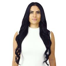 24 inch clip in hair extensions 100 remy hair 5 piece 140 gram