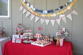 Decorations:Colorful Table Cloth Design For Nice Party Table Decoration  Ideas For Kids Birthday Nice