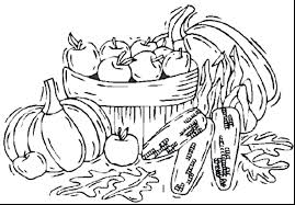 Fall Coloring Pages For Toddlers Antiatominfo