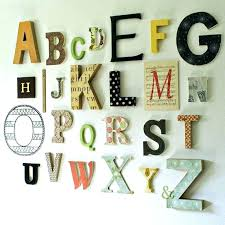 alphabet wall decor surprising letters for wall decor baby nursery letters wall art stupendous alphabet wall
