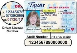 2019-03-08 Texas In Responsibility License - Driver's Drivers Program