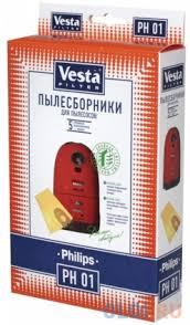 <b>Комплект пылесборников Vesta</b> PH 01 5шт + фильтр — купить по ...