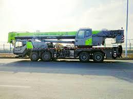 Uzbekistan 1 Unit Zoomlion Truck Crane Qy55v Success Cases