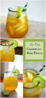Can't Recipe It's Low Drinks Cocktails Carb Carb Punch Caribbean Carb I Rum Believe