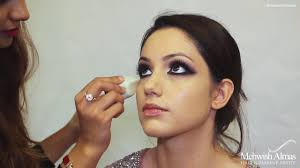 arabic inspired stani bridal makeup tutorial by mehwish almas