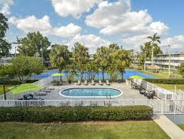 outdoor pool with patio furniture set point garden apartments