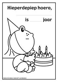 Kleurplaten Verjaardag Nichtje