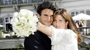 mirka federer wedding. stylish and elegant, tennis ace roger federer mirka vavrinec were married at easter the registry office in basle. first pictures of wedding s