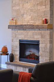 how to convert a gas fireplace to electric after
