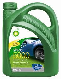 <b>Моторное масло BP Visco</b> 5000 5W-30 4, 4 л — купить в интернет ...