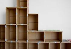 diy cardboard furniture. Easy DIY Cardboard Furniture Ideas Open Shelves Storage Diy 0