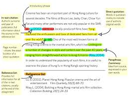 In Text Citation Extended Essay