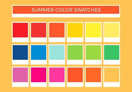 Yellow Cmyk Color Chart Vector Color Chart At Getdrawings Com Free For Personal