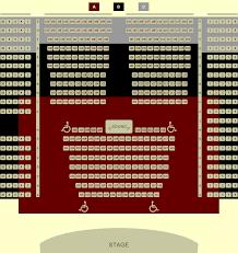 Seating Chart Liberty Theatre