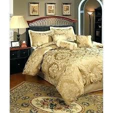 gold bedding sets luxury jacquard comforter bedding sets gold duvet cover king size regarding prepare 2