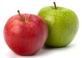 green and red apples. fresh apple green and red apples