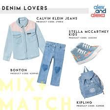 Match Designer Clothing Mix Match Denim Lovers Calvin Klein Jeans Shirt Bonton