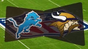 Image result for lions vs vikings