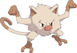 Pokemon 56 Mankey Pokedex Evolution Moves Location Stats