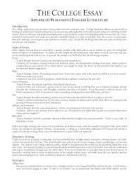writing a good college application essay on writing the college application essay sparknotes college essay