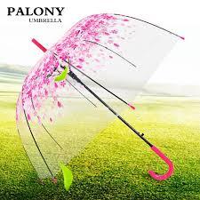 New Fashion Transparent Clear <b>Umbrella Cherry</b> Blossom ...